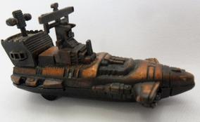 Navio Militar Miniatura De Metal Apontador De Lápis Coleção