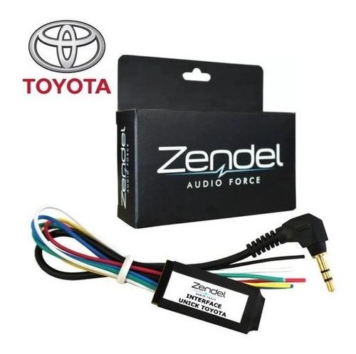 Interface Controle De Som Volante Zendel Toyota Unick To