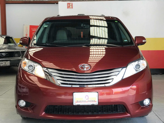 Toyota Sienna Limited 2014 (mexcar)
