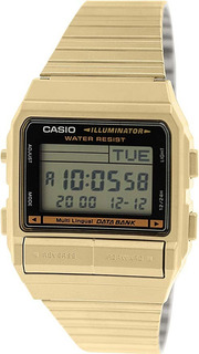 Reloj Casio Chrono Alarm Telememo Db380g1df   Envío Gratis