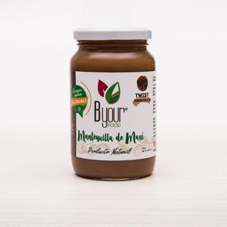 Manteca De Maní C/ Chocolate . 400gr. Ap.keto, Vegan, Diabet