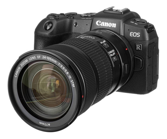 Canon EOS RP 24-105mm IS STM Kit mirrorless cor preto