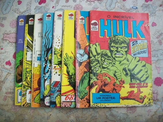 Gibis O Incrível Hulk Ano I - 8 Volumes