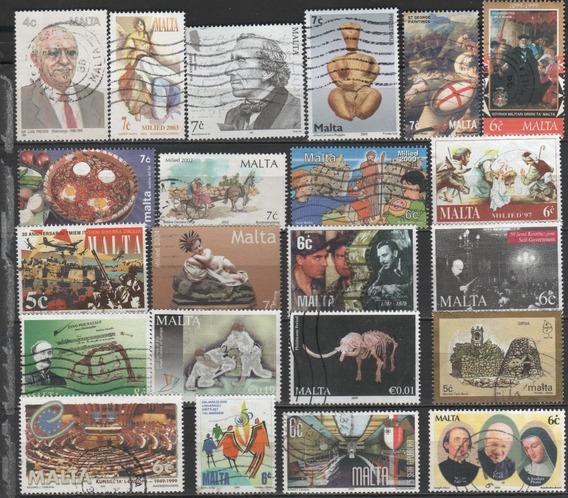 Malta - Coleção De Selos Diferentes - 7696