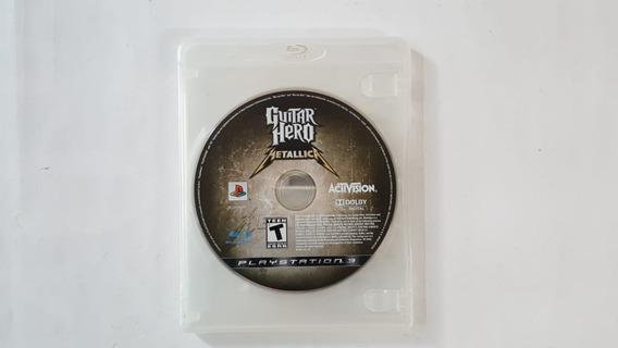 Guitar Hero Metallica - Ps3 - Original - Sem Encarte - Usado