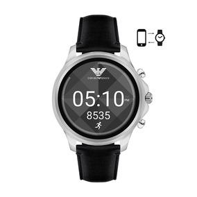 Relógio Smartwatch Emporio Armani Connected Art5003 Couro