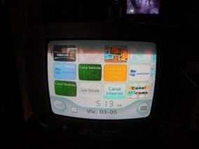 Tv Philips Antiga 14 Polegadas Tubo Colorida Funcionando