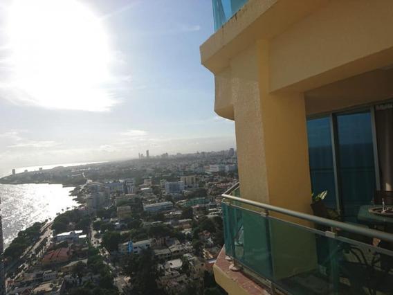 Apartamento Amueblado De 1 Habitacion Con Vista Al Mar