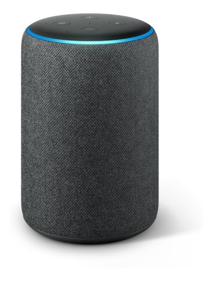 Smart Speaker Amazon Alexa Echo 3 Preto Português Original