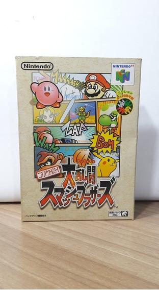 Super Smash Bros Nintendo 64 Japonês Original