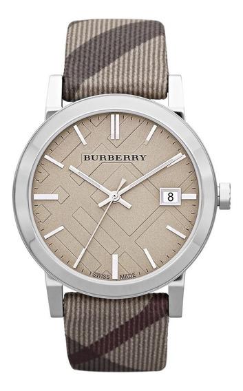 Reloj Burberry Bu9023 Heritage The City Nova Check Beige