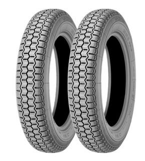 Kit X2 Neumáticos 135 R15 Michelin Zx 72s