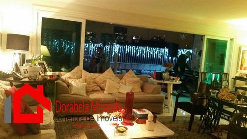 Apartamento Para Locação Em São Paulo, Vila Morumbi, 4 Dormitórios, 4 Suítes, 5 Banheiros, 3 Vagas - 196_2-1027972