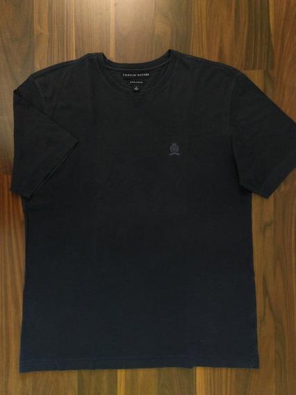 Camiseta Masculina Tommy Hilfiger M Pima Original Importada