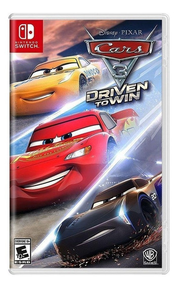 Cars 3: Driven To Win - Mídia Física - Novo - Switch