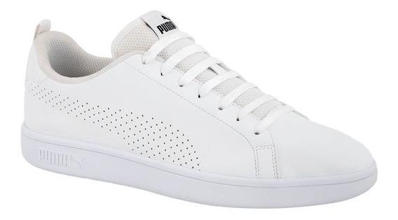 Tenis Casual Puma Smash Ace Blanco Hombre Nuevo 181176 Origi
