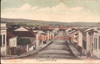 Porto Alegre-cartão Postal-rua Coronel João Telles