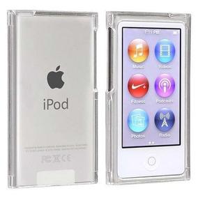 Case Capa iPod Nano 7 Ultra Clear Fume Silicone + Pelicula