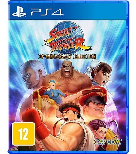 Jogo Street Fighter 30th Anniversary Collection Ps4 M Fisica