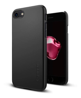 Capa De Celular Spigen Apple iPhone 8 Thin Fit Black