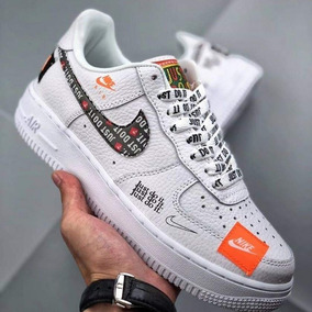 Zapatilas Nike Force One Just Do It Unisex Original En Caja