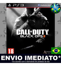 Call Of Duty Black Ops Ii Com Dlc Ps3 Código Psn Português