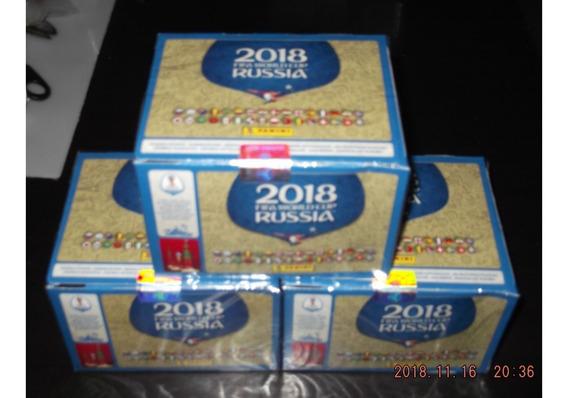 100 Sobres Rusia 2018 Panini Caja Nueva