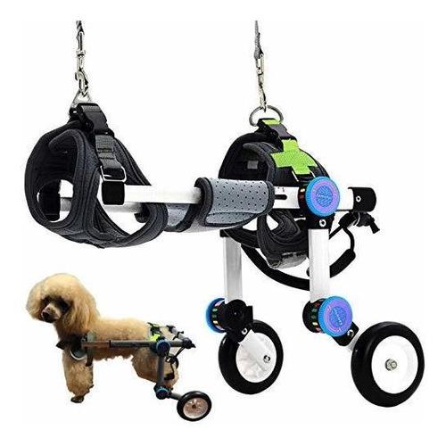 Imagen 1 de 6 de Silla De Ruedas Plegable  Para  Perros Ayuda A Las Mascotas