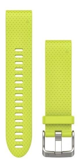 Garmin Pulseira Silicone Amarela Para Fenix 5s 010-12491-13