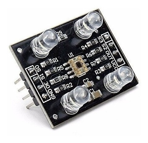 Tcs230 Tcs3200 Sensor Cores Rgb __ Pra Arduino Esp32 Nodemcu
