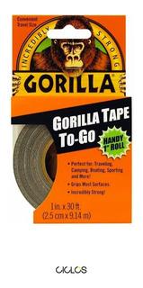 Cinta Para Tubelizar Gorilla Tape 25mm 4 Ruedas R29 - Ciclos