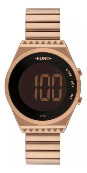 Relógio Euro Feminino Fashion Fit Slim Rosê Eubjt016ab/4j