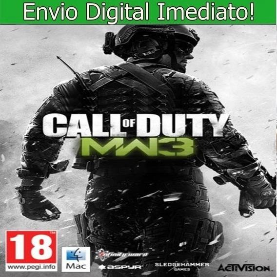 Call Of Duty Modern Warfare 3 Pc Hd Pt Br Envio Imediato!