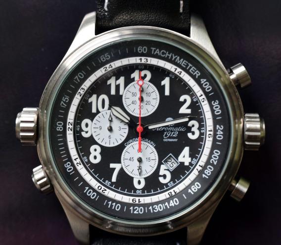 Relógio Aviador Aeromatic - Cronógrafo - Show