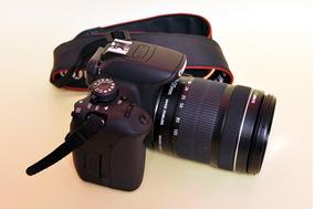 Câmera Canos Eos Kiss X7i