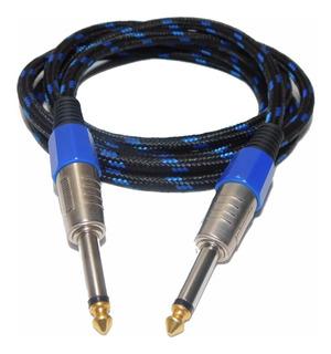 Cable Para Guitarra Electrica Plug Hamc 2 Metros. Envio Full