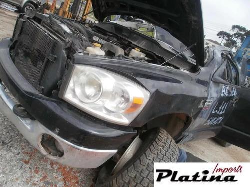 Sucata Dodge Ram 2500 2008 Para Retirada De Peças
