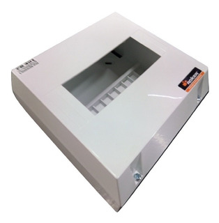 Caja Para Térmica 6 Bocas Exterior S/puerta Roker Pr 420