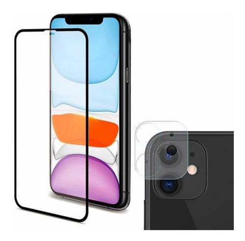 Vidrio Protector Premium Mas Vidrio Cámara Para iPhone 11