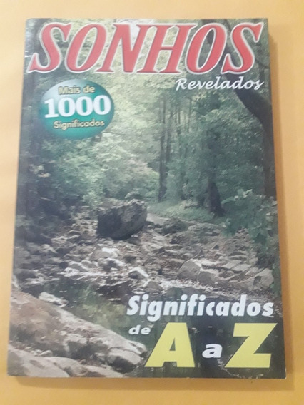 Revista Sonhos Revelados N°13 - Mais De 1000 Significados