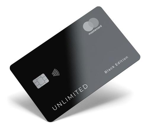 Película Adesiva Cartão Crédito Débito Adesivo Vinil Black