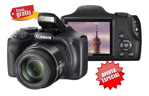 Camara Canon Sx540 Wifi- 100x Zoom 20mpx Hd Gps Video Oferta