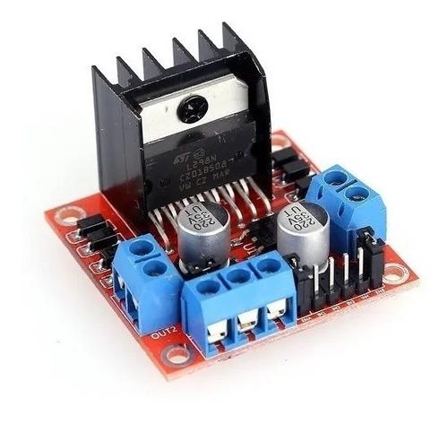 Imagen 1 de 5 de Puente H L298n  Compatible Arduino