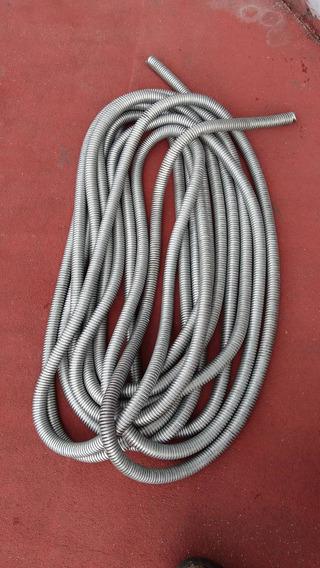 Tubo Flexible Metálico (zapa) De 3/4 Pulgada