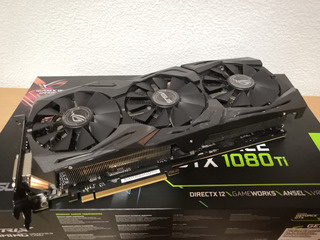 Tarjeta De Video Gpu Asus Geforce Gtx 1080 Ti
