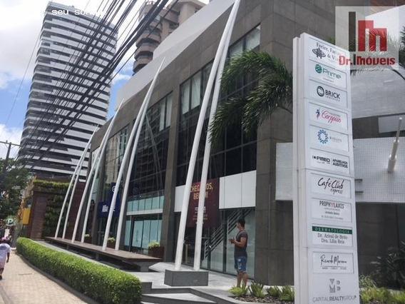 Sala Comercial Para Venda Em Belém, Umarizal, 2 Banheiros - V4520