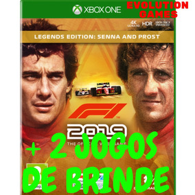 Formula 1 2019 Xbox One Pré Venda + 2 Jogos De Brinde