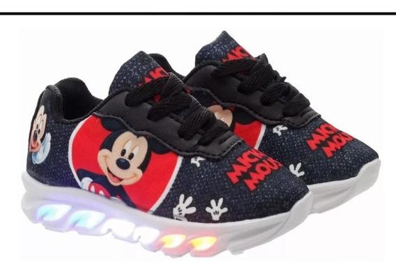 Tênis Led Infantil Mickey Disney