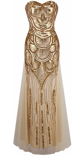 Vestido Longo Ouro Luxo Importado Pronta Entrega No Brasil