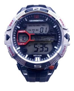 Reloj Kevingston Hombre 100 Metros Sumergible Agente Oficial